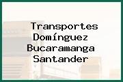Transportes Domínguez Bucaramanga Santander