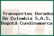Transportes Dorados De Colombia S.A.S. Bogotá Cundinamarca