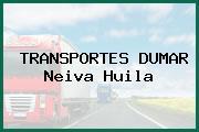 TRANSPORTES DUMAR Neiva Huila