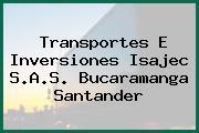 Transportes E Inversiones Isajec S.A.S. Bucaramanga Santander