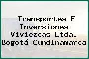 Transportes E Inversiones Viviezcas Ltda. Bogotá Cundinamarca