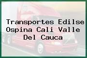 Transportes Edilse Ospina Cali Valle Del Cauca