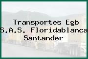 Transportes Egb S.A.S. Floridablanca Santander