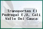 Transportes El Pedregal E.U. Cali Valle Del Cauca