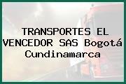 TRANSPORTES EL VENCEDOR SAS Bogotá Cundinamarca