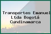 Transportes Emanuel Ltda Bogotá Cundinamarca
