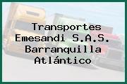 Transportes Emesandi S.A.S. Barranquilla Atlántico