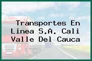 Transportes En Linea S.A. Cali Valle Del Cauca