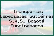 Transportes Especiales Gutiérrez S.A.S. Bogotá Cundinamarca