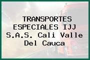 TRANSPORTES ESPECIALES IJJ S.A.S. Cali Valle Del Cauca