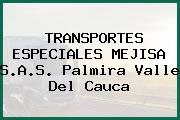TRANSPORTES ESPECIALES MEJISA S.A.S. Palmira Valle Del Cauca