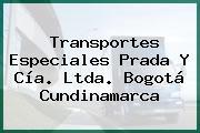 Transportes Especiales Prada Y Cía. Ltda. Bogotá Cundinamarca