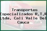 Transportes Especializados R.T.R Ltda. Cali Valle Del Cauca