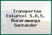 Transportes Esturcol S.A.S. Bucaramanga Santander
