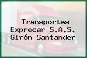 Transportes Exprecar S.A.S. Girón Santander
