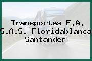 Transportes F.A. S.A.S. Floridablanca Santander