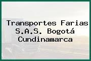 Transportes Farias S.A.S. Bogotá Cundinamarca