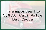 Transportes Fcd S.A.S. Cali Valle Del Cauca