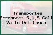 Transportes Fernández S.A.S Cali Valle Del Cauca