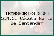 TRANSPORTES G & L S.A.S. Cúcuta Norte De Santander
