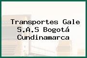 Transportes Gale S.A.S Bogotá Cundinamarca