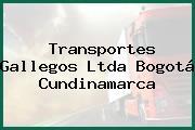 Transportes Gallegos Ltda Bogotá Cundinamarca