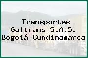 Transportes Galtrans S.A.S. Bogotá Cundinamarca