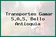 Transportes Gamar S.A.S. Bello Antioquia