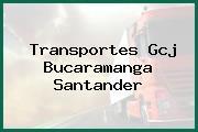 Transportes Gcj Bucaramanga Santander