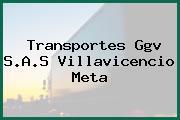 Transportes Ggv S.A.S Villavicencio Meta
