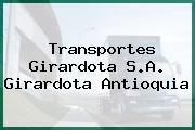 Transportes Girardota S.A. Girardota Antioquia
