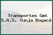 Transportes Gmt S.A.S. Tunja Boyacá