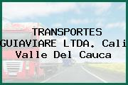 TRANSPORTES GUIAVIARE LTDA. Cali Valle Del Cauca
