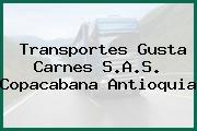 Transportes Gusta Carnes S.A.S. Copacabana Antioquia