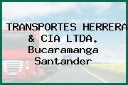 TRANSPORTES HERRERA & CIA LTDA. Bucaramanga Santander