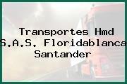 Transportes Hmd S.A.S. Floridablanca Santander