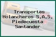 Transportes Holancheros S.A.S. Piedecuesta Santander