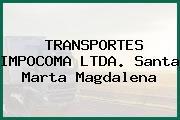 TRANSPORTES IMPOCOMA LTDA. Santa Marta Magdalena