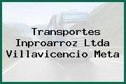 Transportes Inproarroz Ltda Villavicencio Meta