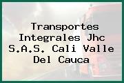 Transportes Integrales Jhc S.A.S. Cali Valle Del Cauca