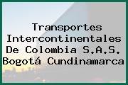 Transportes Intercontinentales De Colombia S.A.S. Bogotá Cundinamarca
