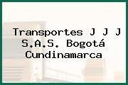 Transportes J J J S.A.S. Bogotá Cundinamarca