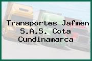Transportes Jafmen S.A.S. Cota Cundinamarca
