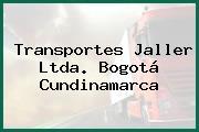 Transportes Jaller Ltda. Bogotá Cundinamarca