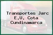 Transportes Jarc E.U. Cota Cundinamarca