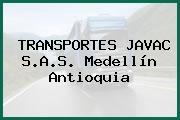 TRANSPORTES JAVAC S.A.S. Medellín Antioquia