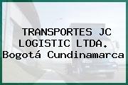 TRANSPORTES JC LOGISTIC LTDA. Bogotá Cundinamarca