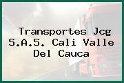 Transportes Jcg S.A.S. Cali Valle Del Cauca