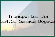 Transportes Jer S.A.S. Samacá Boyacá