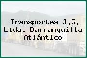 Transportes J.G. Ltda. Barranquilla Atlántico